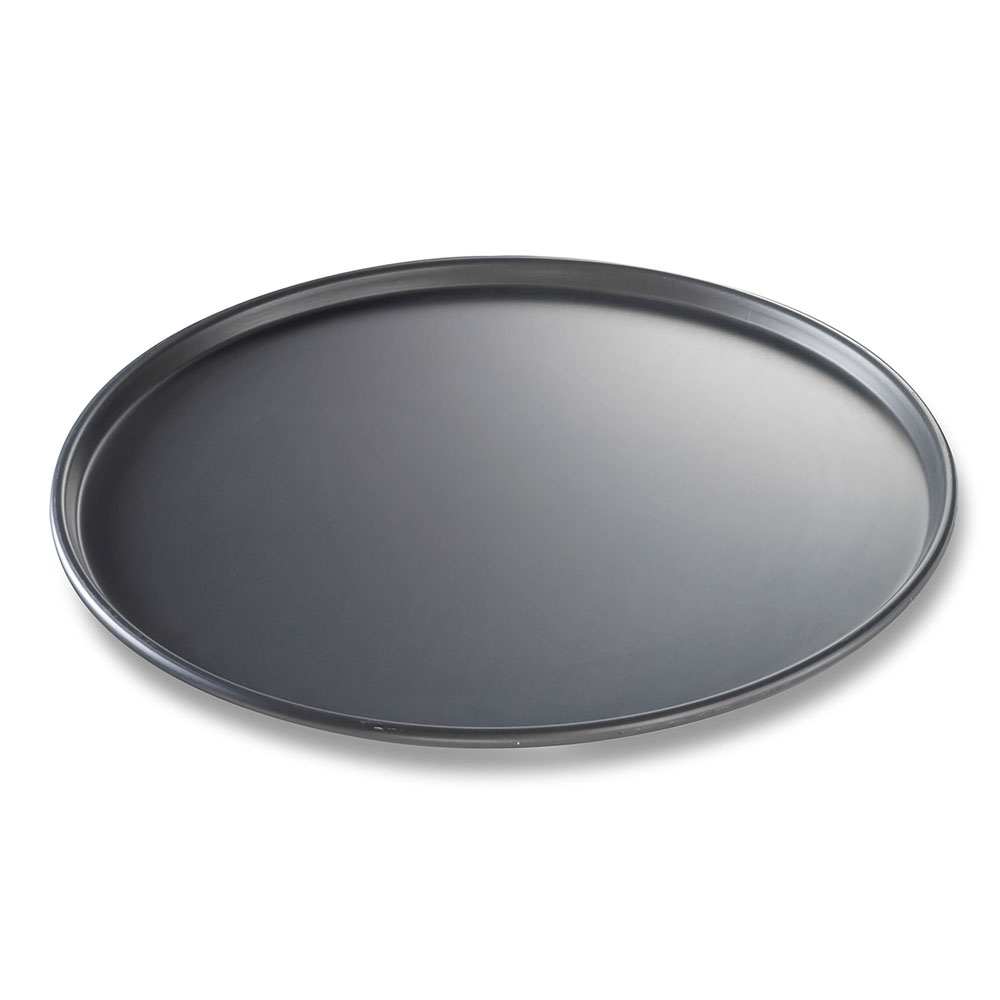 "Chicago Metallic 49163 BAKALON® 16"" Round Thin Crust Pizza Pan, Aluminum"