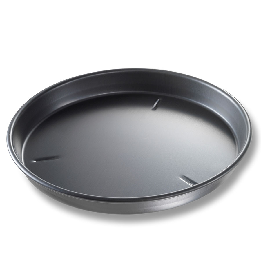 "Chicago Metallic 91130 Deep Dish Pan, 13 x 1.5"", Aluminum"