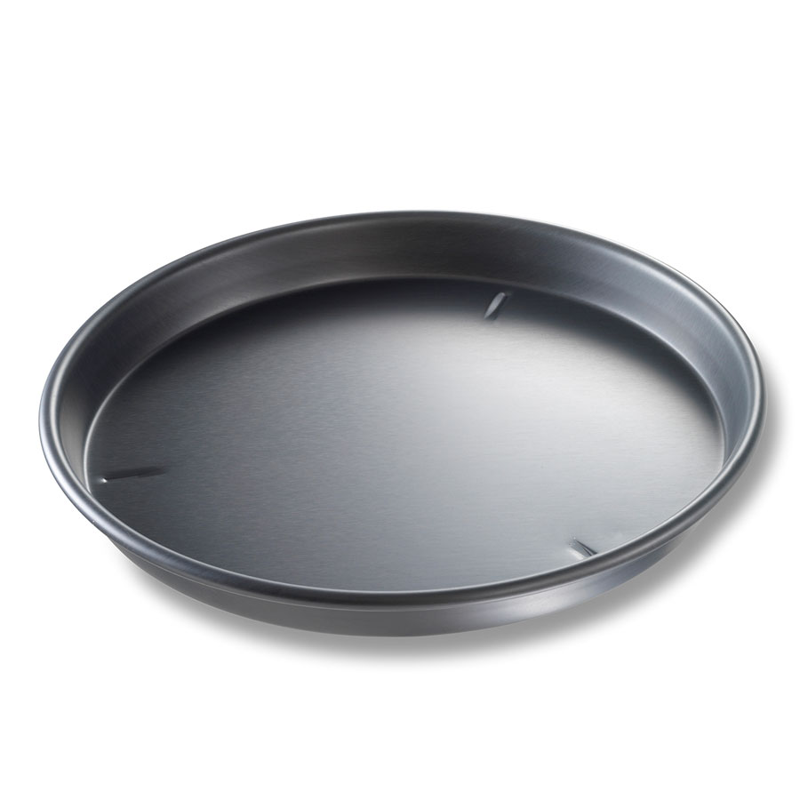 "Chicago Metallic 91140 Deep Dish Pizza Pan, 14 x 1.5"", Aluminum"