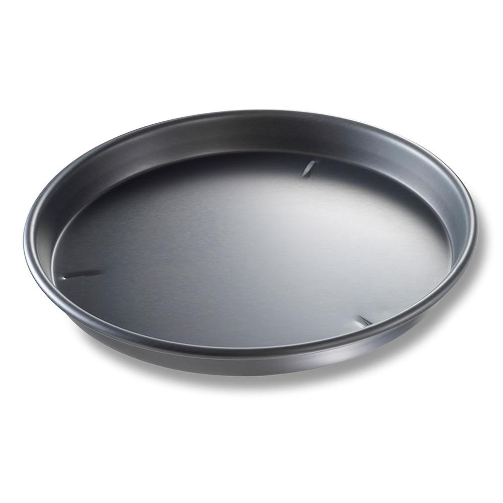 "Chicago Metallic 91145 BAKALON® 14"" Round Deep Dish Pizza Pan, Anodized Aluminum"