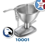 Chicago Metallic 10001 Manual Cake Filler, 5-qt, Stainless Steel