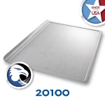 Chicago Metallic 20100 1/4-Size Glazed Baking Cookie Sheet, Aluminized Steel