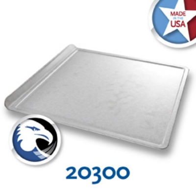 Chicago Metallic 20300 1/2-Size Glazed Baking Cookie Sheet, Aluminized Steel