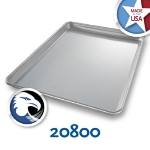 Chicago Metallic 20800 Jelly Roll Pan, 12-15/16 x 17.25-in, Aluminized Steel, 1-in Deep