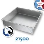 Chicago Metallic 21500 Glazed Cake Pan 9 x 9-in, Aluminized Steel