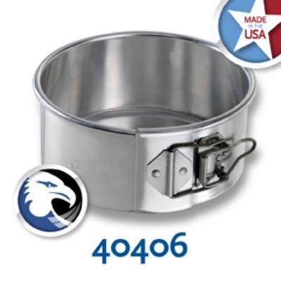Chicago Metallic 40406 Spring Form Cake Pan, 6 x 3-in, Aluminum