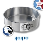 Chicago Metallic 40410 Spring Form Cake Pan, 10 x 3-in, Aluminum