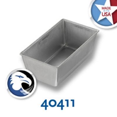Chicago Metallic 40411 Individual Bread Pan, 5-5/8 x 3-1/8-in, Aluminized Steel