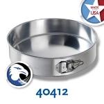 Chicago Metallic 40412 Spring Form Cake Pan, 12 x 3-in, Aluminum