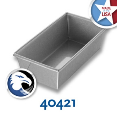 Chicago Metallic 40421 Individual Bread Pan, 8.5 x 4.5-in, Aluminized Steel