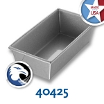 Chicago Metallic 40425 Individual Bread Pan, 8.5  x 4.5-in, Aluminized Steel, Wire In Rim