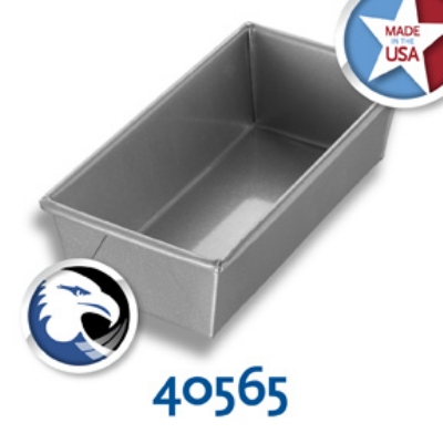 Chicago Metallic 40565 Individual Bread Pan, 9 x 4.5-in, Aluminized Steel, Glazed