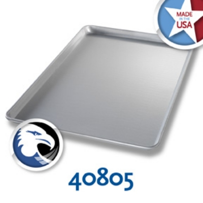 Chicago Metallic 40805 Full-Size Glazed Sheet Pan, Aluminum, BISCC Approved