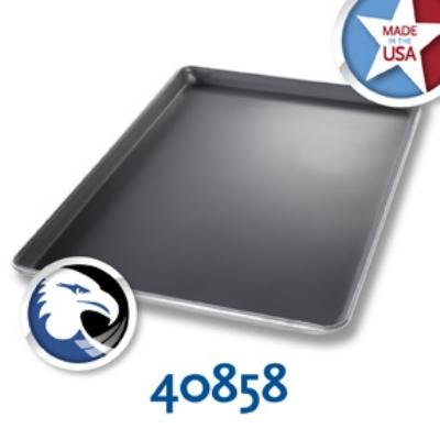 Chicago Metallic 40858 1/2-Size Sheet Pan, Aluminum w/DuraShield