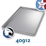 Chicago Metallic 40912 Full-Size Display Pan, Anodized Aluminum, Semi-Closed Rim