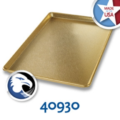 Chicago Metallic 40930 Display Pan, 12 x 18-in, Gold Finish, Anodized Aluminum