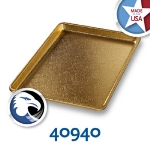 Chicago Metallic 40940 Display Pan, 9.5 x 13-in, Anodized Aluminum, Gold Finish