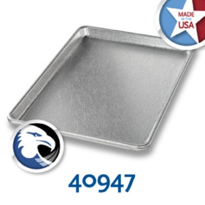 Chicago Metallic 40947 Display Pan, 9.5 x 13-in, Anodized Aluminum, Silver Finish