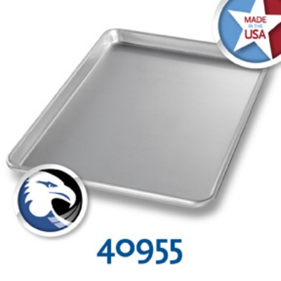 Chicago Metallic 40955 1/2-Size Sheet Pan, Glazed, Aluminum