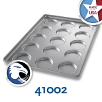 Chicago Metallic 41002 Bun & Roll Pan, Holds 3-Rows of 5, Aluminized Steel