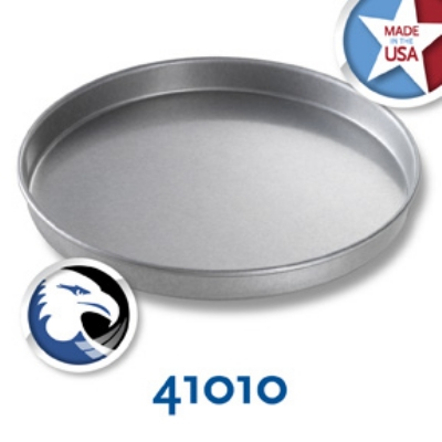 Chicago Metallic 41010 Cake Pan, 10 x 1-in, Round, Aluminized Steel
