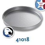 Chicago Metallic 41018 Round Cake Pan, 10 x  1-in, Aluminized Steel