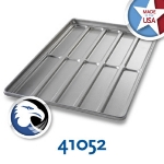 Chicago Metallic 41052 Hoagie Roll Pan, Holds 5-Rows of 2, Aluminized Steel