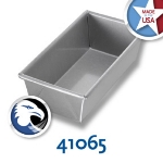 Chicago Metallic 41065 Glazed Individual Bread Pan, 8-in, Aluminized Steel