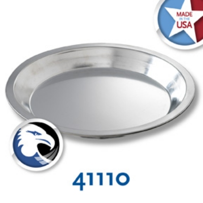 Chicago Metallic 41110 Tin Pie Plate, 9 x 1-in