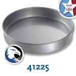 Chicago Metallic 41225 Round Cake Pan, 12 x 2-in, Aluminized Steel