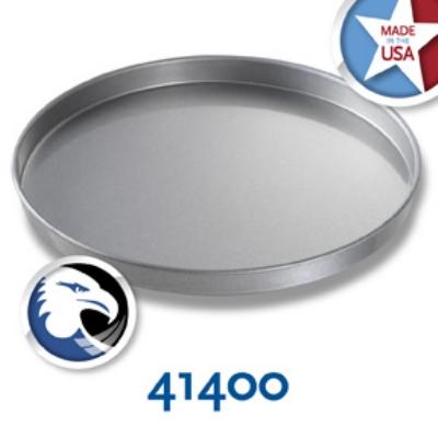 Chicago Metallic 41400 Glazed Cake Pan, 14 x 1-in, Aluminized Steel