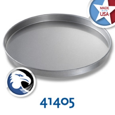 Chicago Metallic 41405 Glazed Round Cake Pan, 14 x 1-in, Aluminized Steel