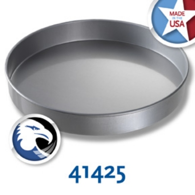 Chicago Metallic 41425 Glazed Round Cake Pan, 14 x 2-in, Aluminized Steel