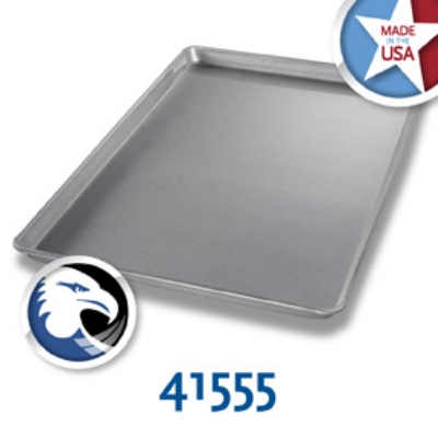 Chicago Metallic 41555 Full-Size Sheet Pan, Aluminized Steel, Glazed