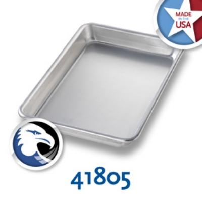Chicago Metallic 41805 1/8-Size Glazed Sheet Pan, Aluminum