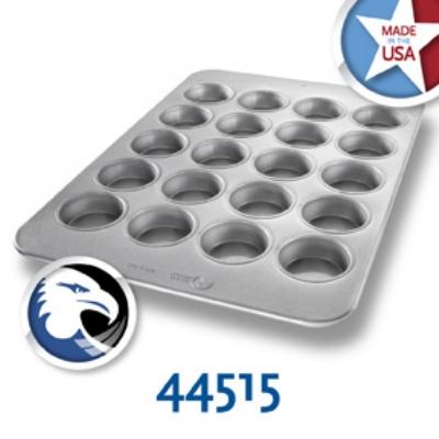 Chicago Metallic 44515 Oversized Jumbo Muffin Pan, (20) 6.2-oz, Aluminized Steel
