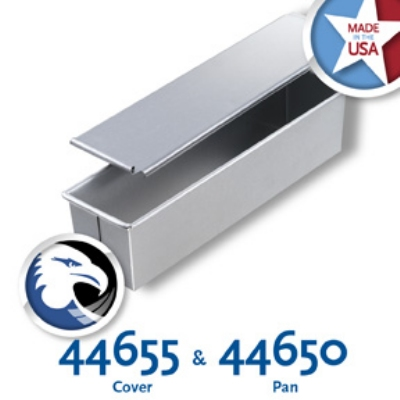 Chicago Metallic 44650 Glazed Individual Pullman Pan, 16 x 4-in, Aluminized Steel