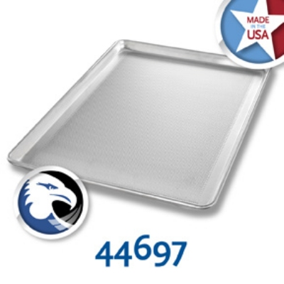 Chicago Metallic 44697 Full-Size Sheet Pan, Perforated Bottom Only, Aluminum