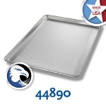 Chicago Metallic 44890 Full-Size Sheet Pan, Perforated Bottom Only, Alumi