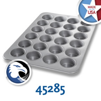 Chicago Metallic 45285 Oversized Jumbo Muffin Pan, (24) 7.0-oz, Aluminized Steel