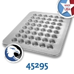 Chicago Metallic 45295 Mini Muffin Pan, Holds (48) 1.1-oz, Aluminized Steel