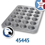 Chicago Metallic 45445 Oversized Jumbo Muffin Pan, (24) 7.0-oz, Aluminized Steel