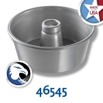 Chicago Metallic 46545 Glazed Angel Food Tube Cake Pan, 9.25 x 4-in, Aluminum, Seamless
