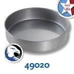 Chicago Metallic 49020 Round Cake Pan, 9-in, Aluminized Steel