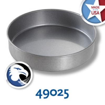 Chicago Metallic 49025 Glazed Round Cake Pan, 9-in, Aluminized Steel