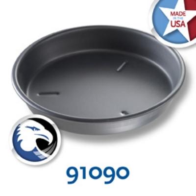 Chicago Metallic 91090 Deep Dish Pizza Pan, 9 x 1.5-in, Aluminum