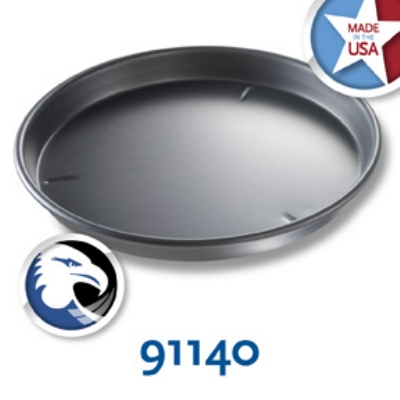 Chicago Metallic 91140 Deep Dish Pizza Pan, 14 x 1.5-in, Aluminum