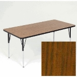 "Correll A3048-REC 02 Activity Table w/ 1.25"" High Pressure Top, 30 x 48"", Oak"