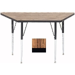 "Correll A2448-TRP 02 Activity Table w/ 1.25"" High Pressure Top, 24 x 24 x 48"", Oak"