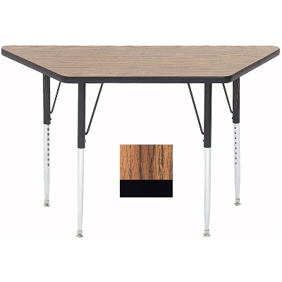 Correll A3060-TRP 02 Activity Table w/ 1.25-in High Pressure Top, 30 x 30 x 60-in, Oak